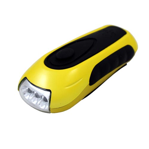 Profex dynamo lampe de poche manivelle de lumi re 3 leds - Lampe de poche a manivelle ...