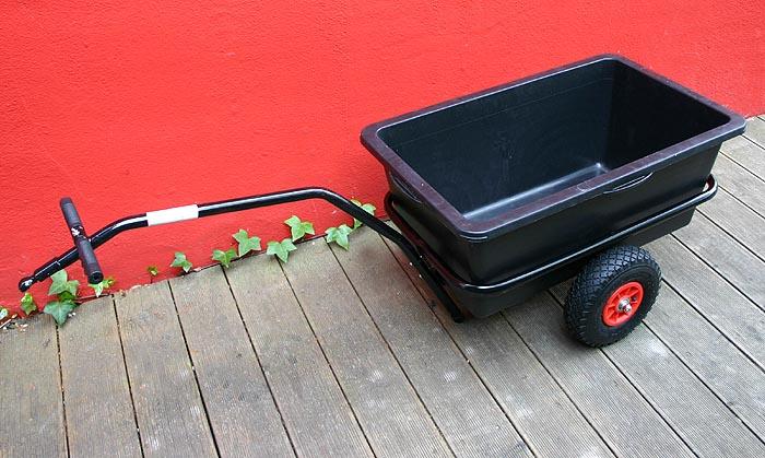 fahrradanh nger trolley lasten transportanh nger 90 l ebay. Black Bedroom Furniture Sets. Home Design Ideas
