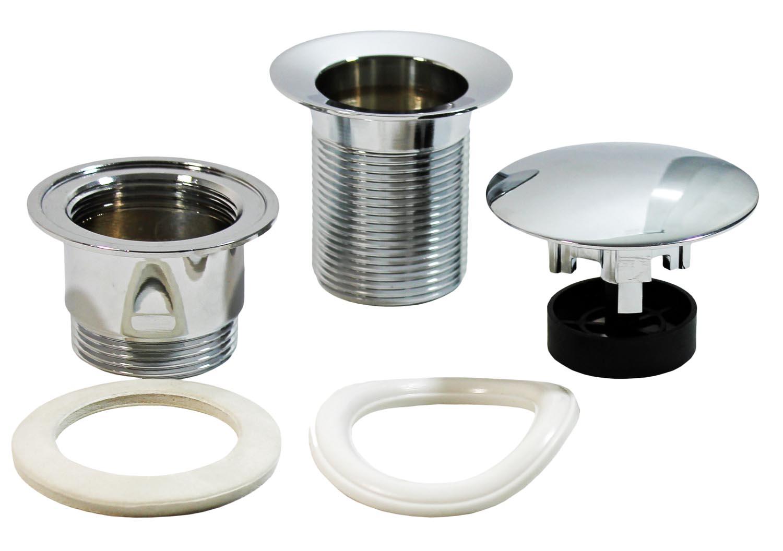 messing waschbecken ablauf ablaufventil abfluss ventil ablaufgarnitur ge ffnet ebay. Black Bedroom Furniture Sets. Home Design Ideas