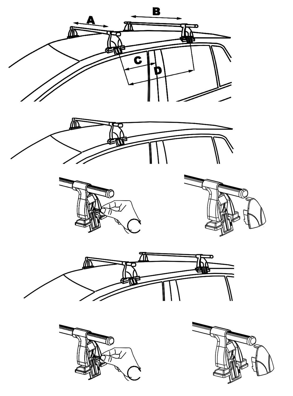 aurilis dachtr ger easy one f r ford b max kombi 5 t rer. Black Bedroom Furniture Sets. Home Design Ideas