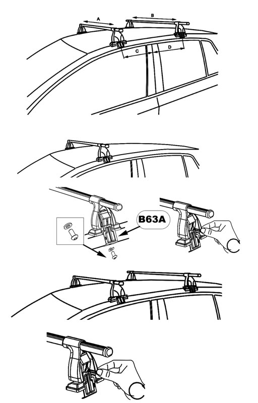 stealth 3 bike rack mounting instructions