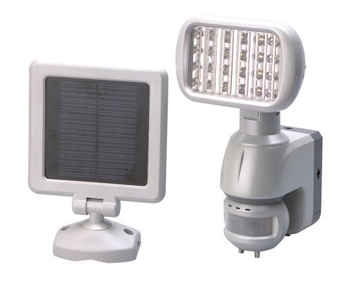 led solarlampe solarstrahler wandlampe bewegungsmelder ebay. Black Bedroom Furniture Sets. Home Design Ideas