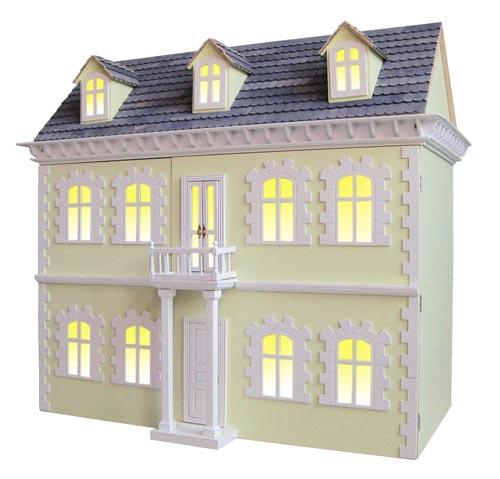 Viktorianisches Puppenhaus Holz ~ viktorianisches Puppenhaus Stadthaus Villa 78 x 42 x 70 cm