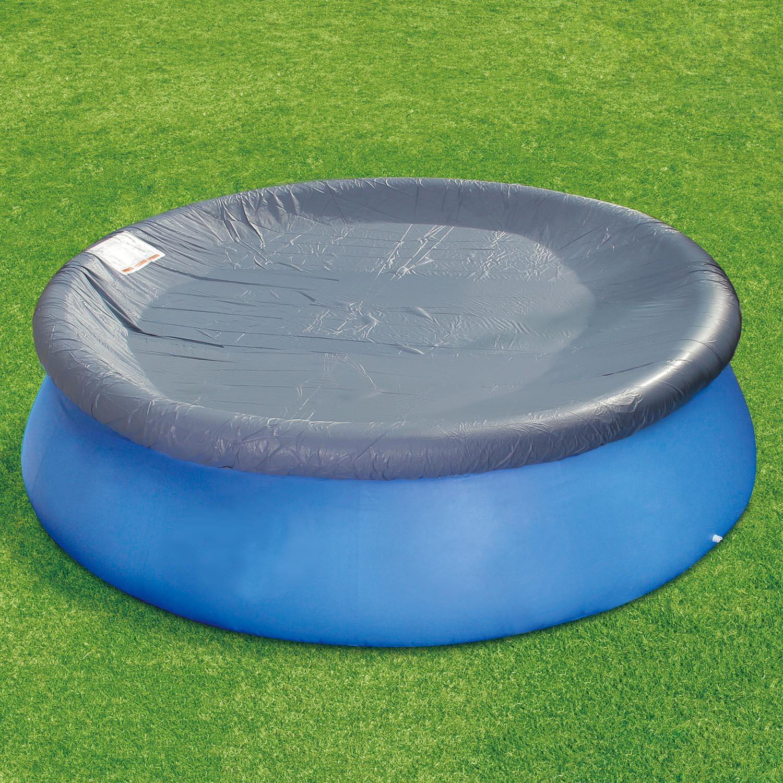 poolabdeckung 366 cm f r bestway intex abdeckplane regenplane f r fast set pool. Black Bedroom Furniture Sets. Home Design Ideas