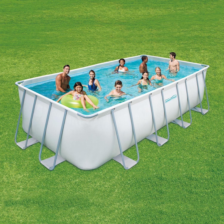 summer waves fast set quick up pool 366x91cm swimmingpool mit filterpumpe. Black Bedroom Furniture Sets. Home Design Ideas