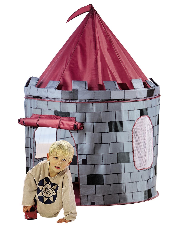 ritterzelt spielzelt ritterburg f r drinnen und drau en 105 x 125 cm ebay. Black Bedroom Furniture Sets. Home Design Ideas