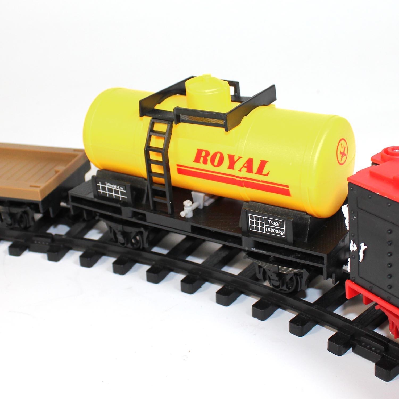 Model Train Supplies : Railway starter set model steam locomotive