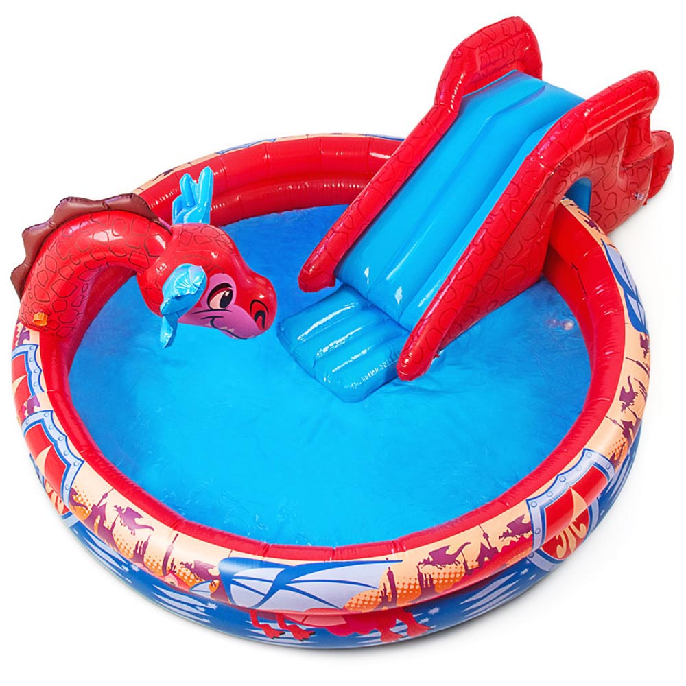 Banzai piscina infantil kinderpool piscina drag n con for Ebay piscinas