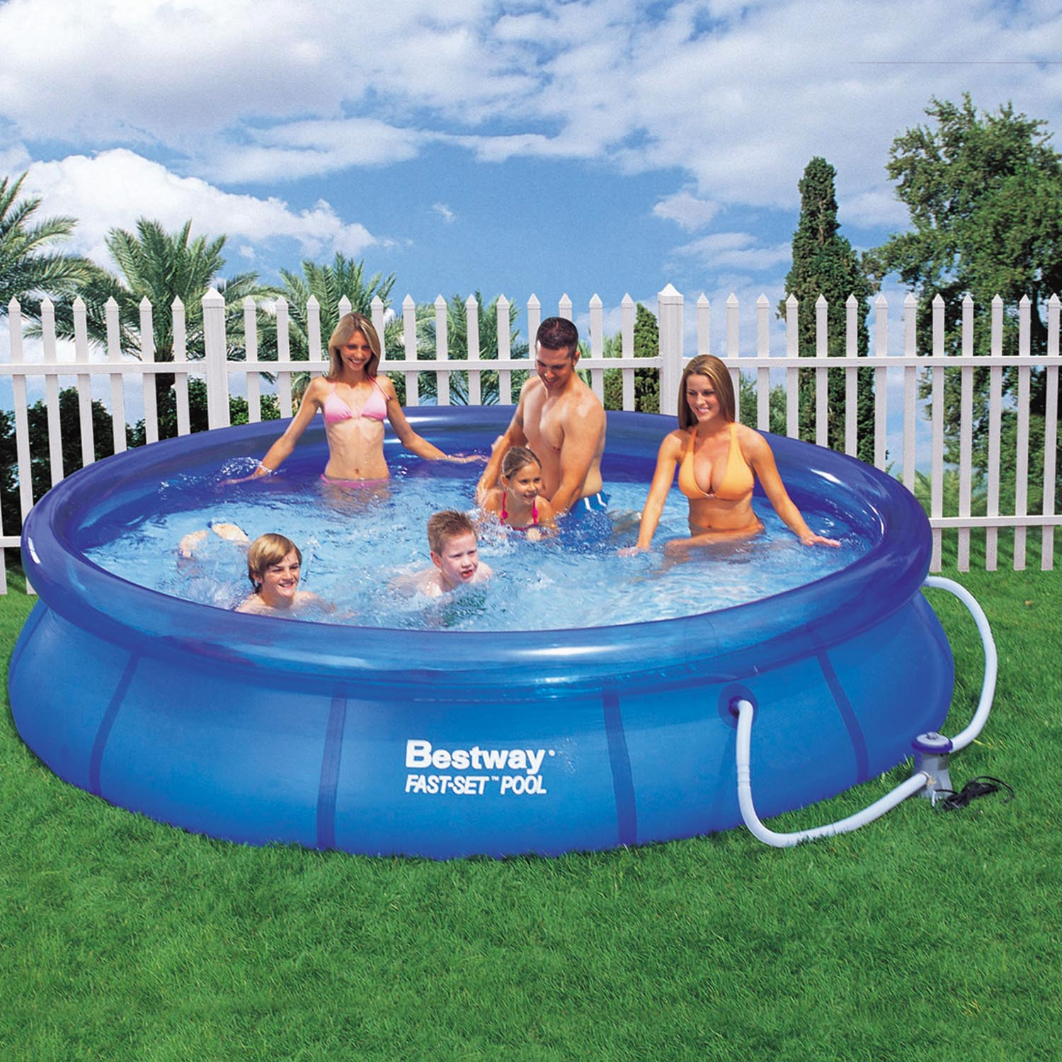Summer Escapes Ring Pool Set Up