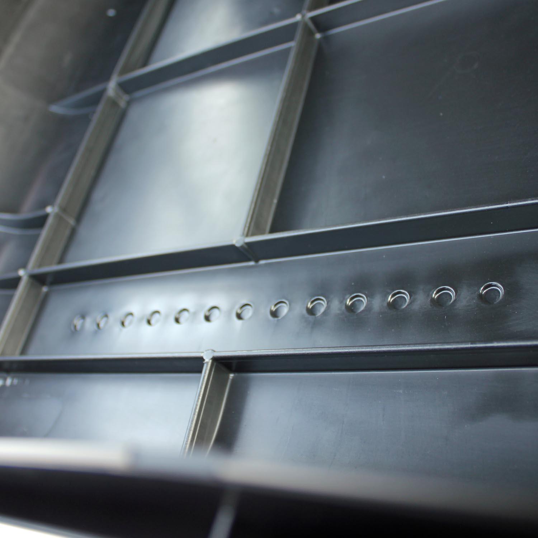 dachbox vdp ba320 schwarz dachkoffer 320 liter autokoffer. Black Bedroom Furniture Sets. Home Design Ideas