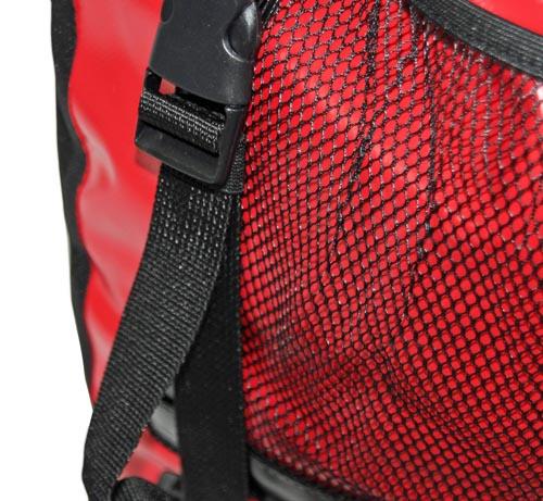 red loon doppelpacktasche rot schwarz wasserdicht. Black Bedroom Furniture Sets. Home Design Ideas