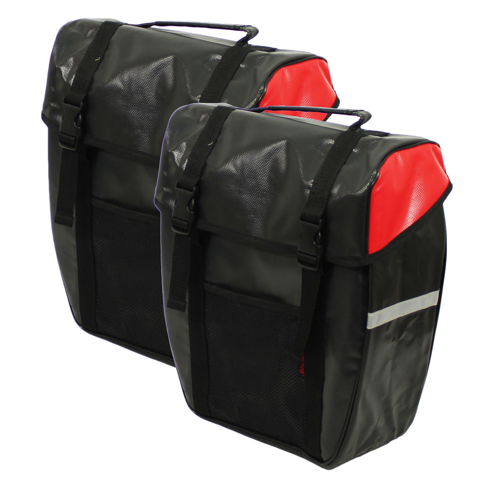 streetcoach fahrradtaschen doppelpacktasche hecktaschen. Black Bedroom Furniture Sets. Home Design Ideas