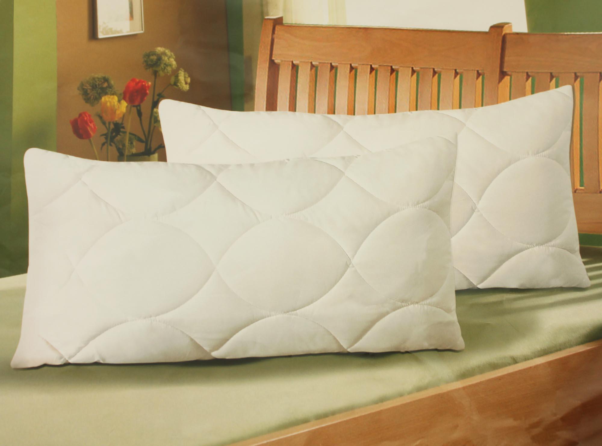 2er pack ko tex kopfkissen kissen tencel f r allergiker geeignet 40x80cm ebay. Black Bedroom Furniture Sets. Home Design Ideas