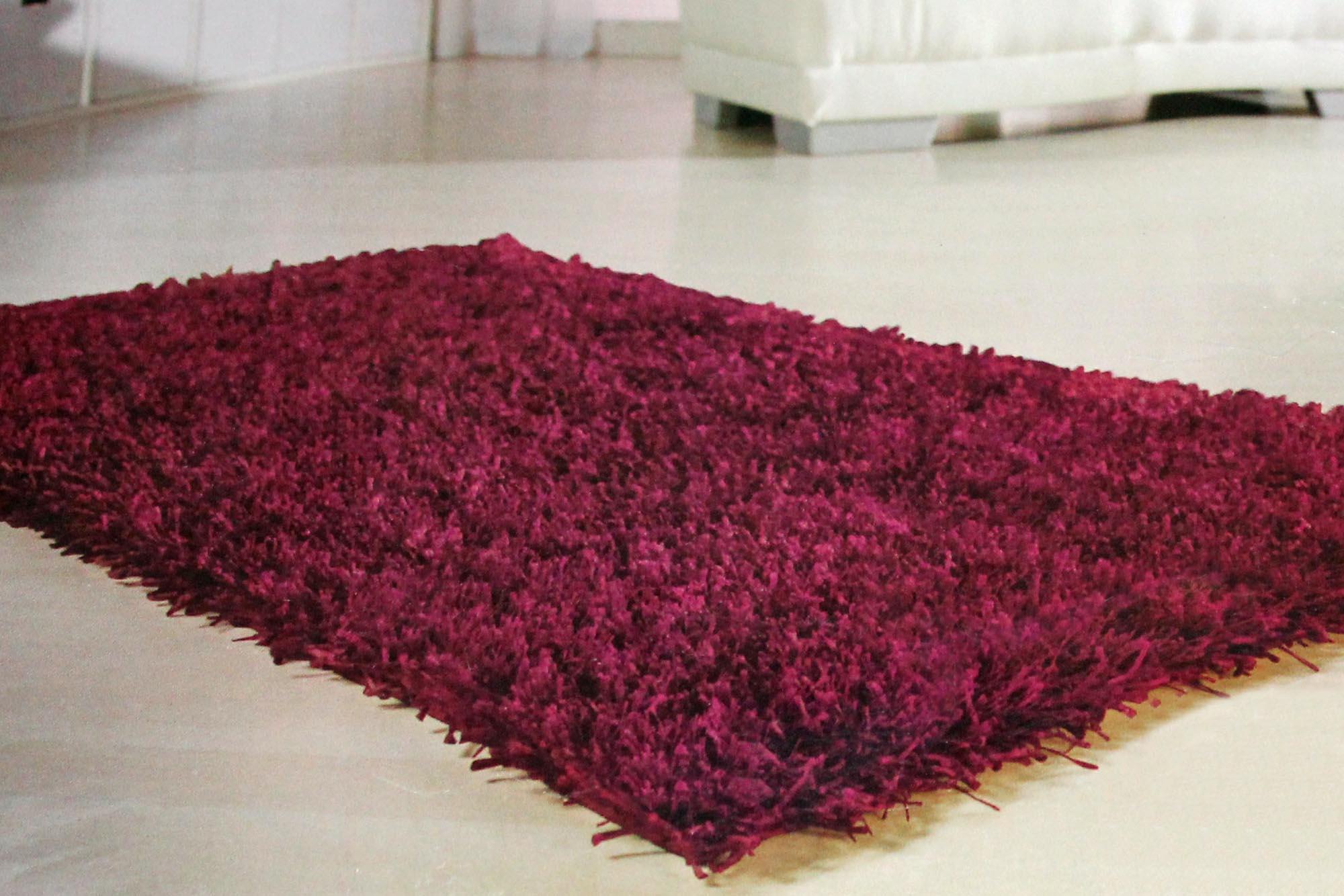 teppich shaggy flieder langflorteppich hochflorteppich l ufer 70 x 120 cm. Black Bedroom Furniture Sets. Home Design Ideas