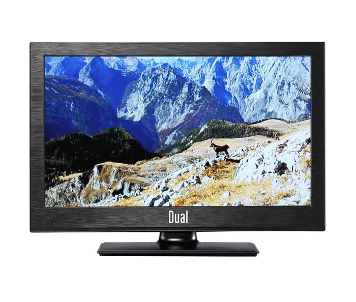 dual 22970 56cm 22 zoll led fernseher full hd tv inkl dvd player ebay. Black Bedroom Furniture Sets. Home Design Ideas