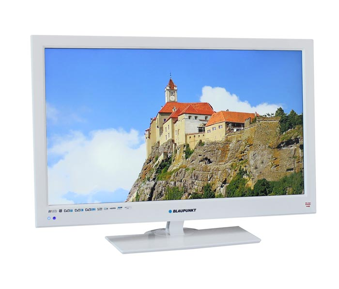 blaupunkt bw23p189 led fernseher wei 23 zoll 58cm full hd tv hdmi energiekl a ebay. Black Bedroom Furniture Sets. Home Design Ideas