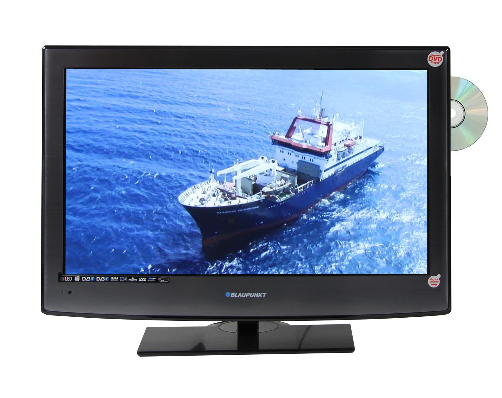 blaupunkt bw21f173tfb led fernseher 21 5 zoll 55cm integrierter dvd player ebay. Black Bedroom Furniture Sets. Home Design Ideas