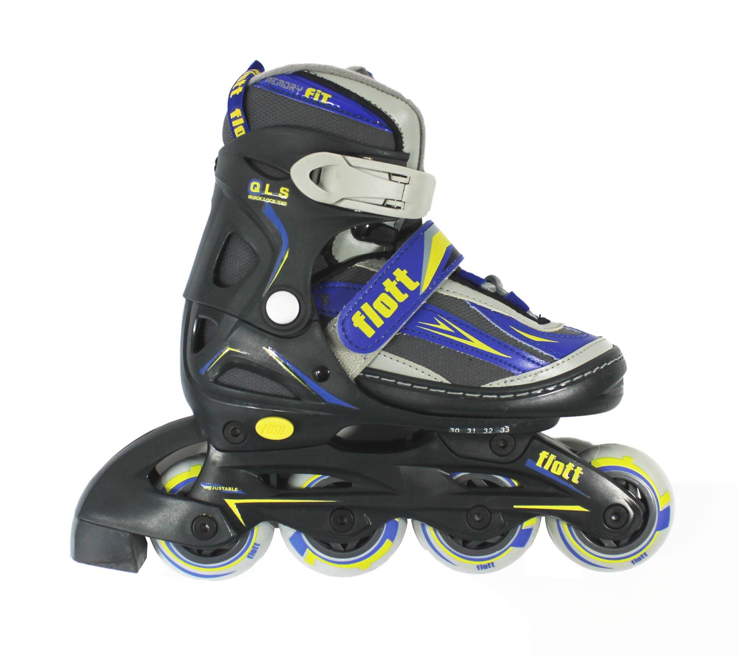 kinder inliner anthrazit blau inlineskates inline skates. Black Bedroom Furniture Sets. Home Design Ideas
