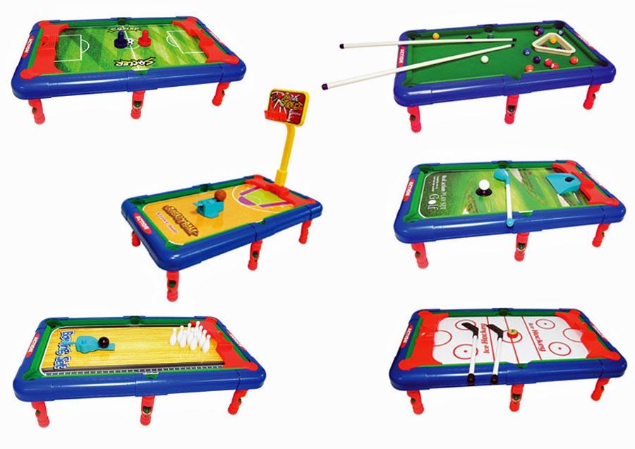 Squadra power tavolo per giocare 6 in 1 multigame palle for Costruire un biliardo