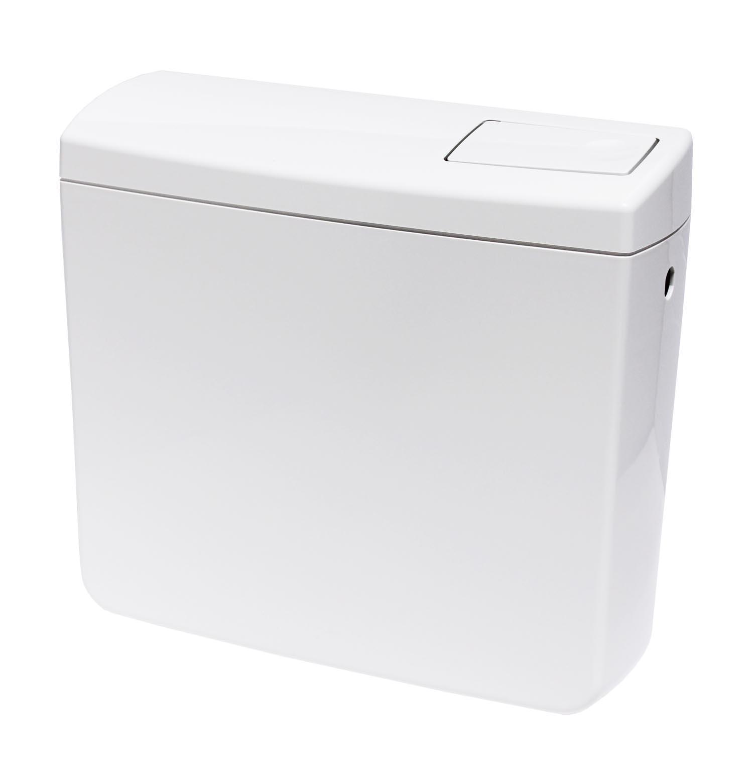 wc sp lkasten nr 3 aufputzsp lkasten toilette sp lung 6 9l einstellbar wei ebay. Black Bedroom Furniture Sets. Home Design Ideas