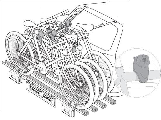 race 2 hecktr ger fahrradtr ger ahk 2 r der klappbar. Black Bedroom Furniture Sets. Home Design Ideas