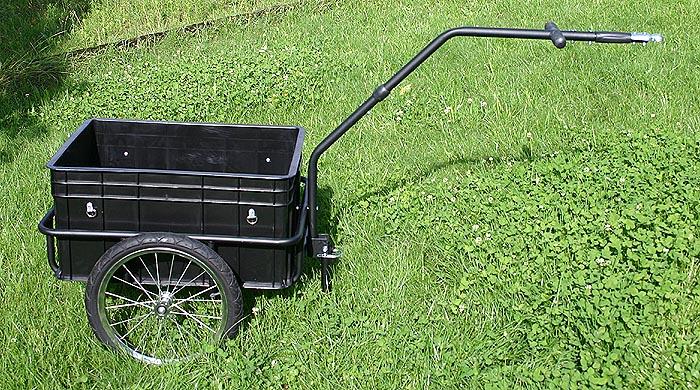 fahrradanh nger trailer maxicargo 70kg transportanh nger lastenanh nger ebay. Black Bedroom Furniture Sets. Home Design Ideas