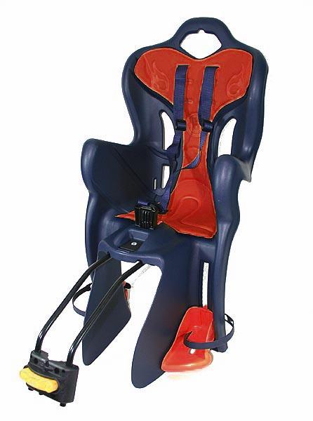 fahrrad kindersitz b one standard dunkelblau rot mit. Black Bedroom Furniture Sets. Home Design Ideas
