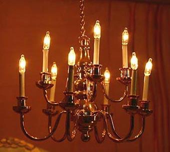 Wundersch ne lampen f r puppenhaus stromleiste trafo ebay for Lampen puppenhaus