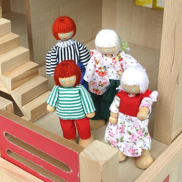 Gigantesco casa delle bambole 54x37x69cm mobili bambole ebay for Piani di casa di 1800 piedi quadrati aperti