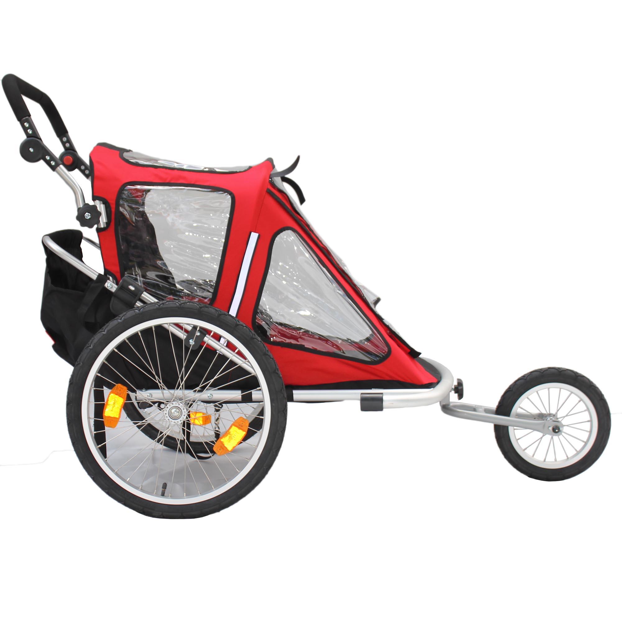kinderanh nger red loon rb10001 alu light jogger f r 2. Black Bedroom Furniture Sets. Home Design Ideas